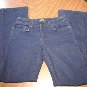 Baby Phat Jeans Stretch Dark Wash Long